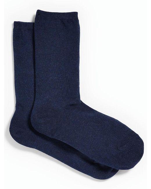 Talbots - Blue Melange Trouser Socks - Lyst