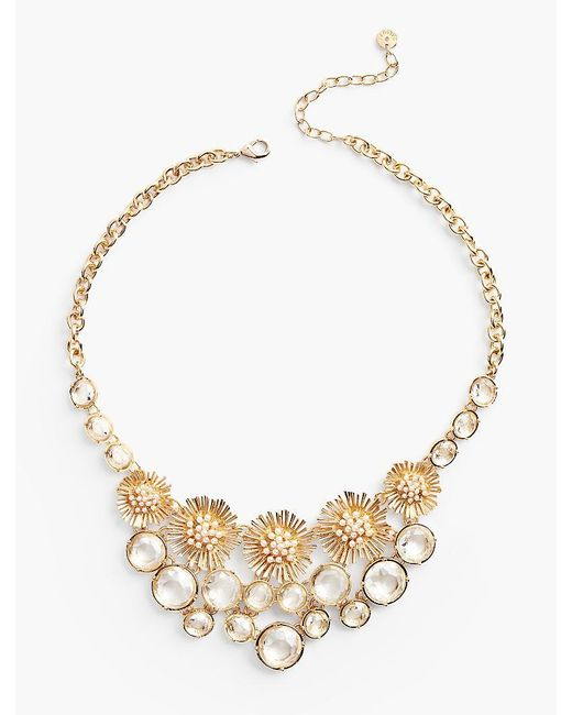 Talbots   Metallic Spring Burst Necklace   Lyst