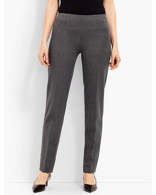 Talbots - Gray Refined Bi-stretch Side-zip Straight-leg - Lyst