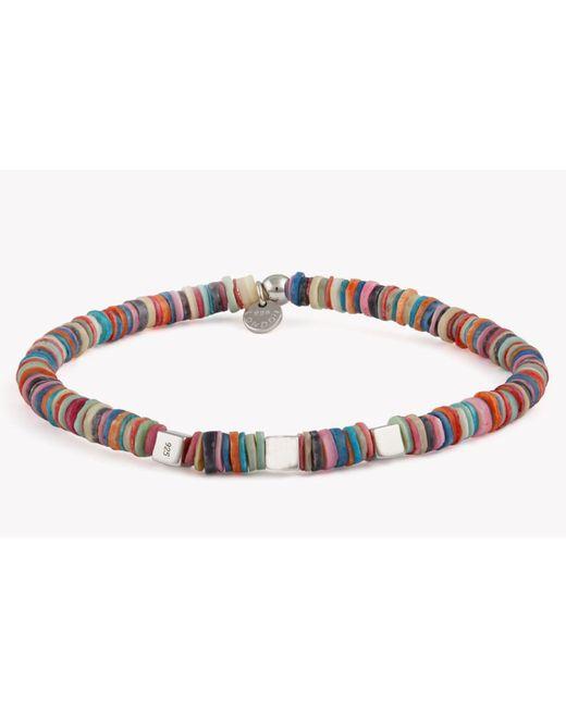Tateossian - Purple Seychelles Beaded Bracelet for Men - Lyst