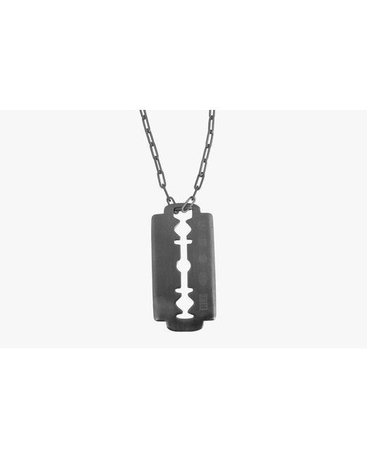 Tateossian | Metallic Gunmetal Iconic Blade Pendant | Lyst