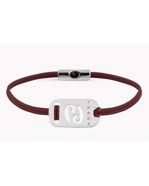 Tateossian - Metallic Zodiac Silver Cancer Bracelet for Men - Lyst
