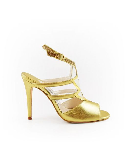 Terry De Havilland | Lightning Sandal Metallic | Lyst