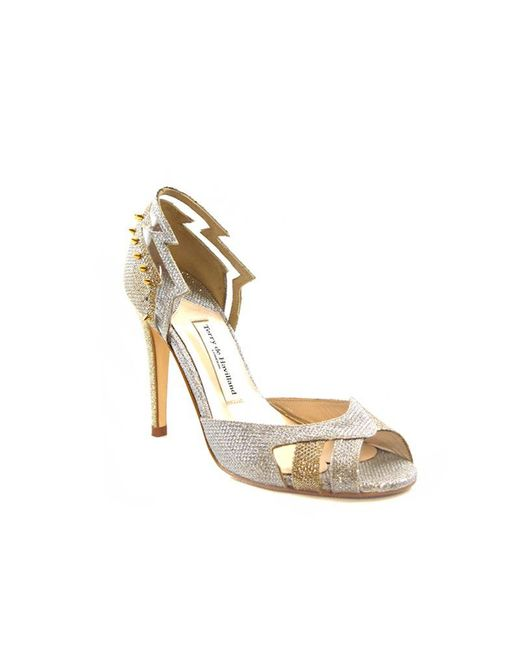 Terry De Havilland   Metallic Kate Shard Gold/silver   Lyst