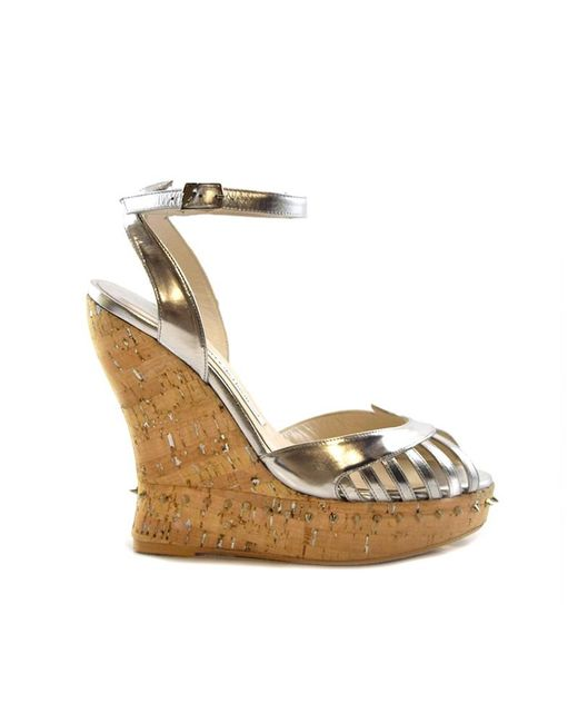 Terry De Havilland | Metallic Margaux Cork/silver | Lyst