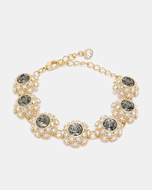 Ted Baker | Metallic Swarovski® Daisy Lace Bracelet | Lyst