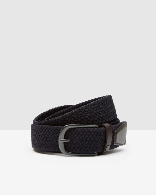 Ted Baker | Blue Woven Elastic Belt for Men | Lyst