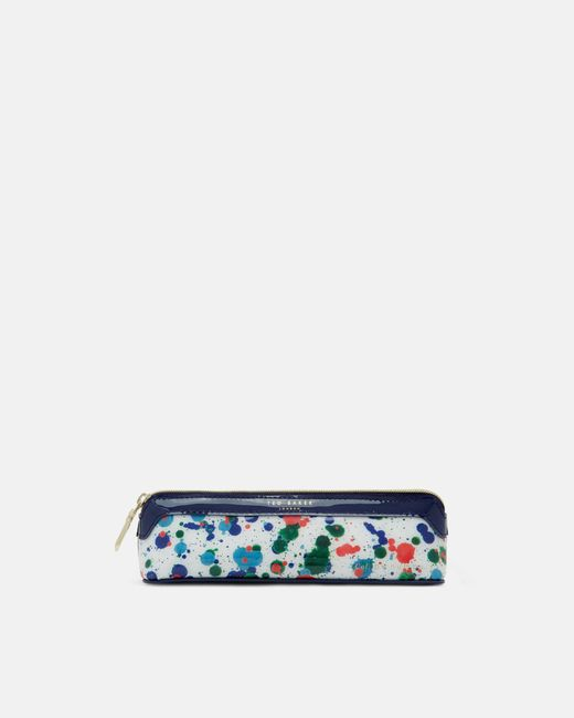 Ted Baker | White Cbn Splash Print Pencil Case | Lyst