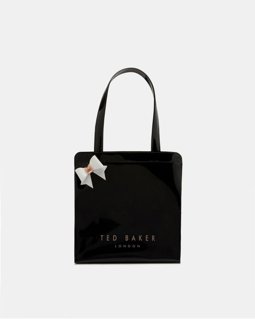 Ted Baker - Black Small Bow Icon Bag - Lyst