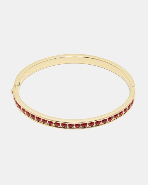 Ted Baker | Red Swarovski® Crystal Bangle | Lyst