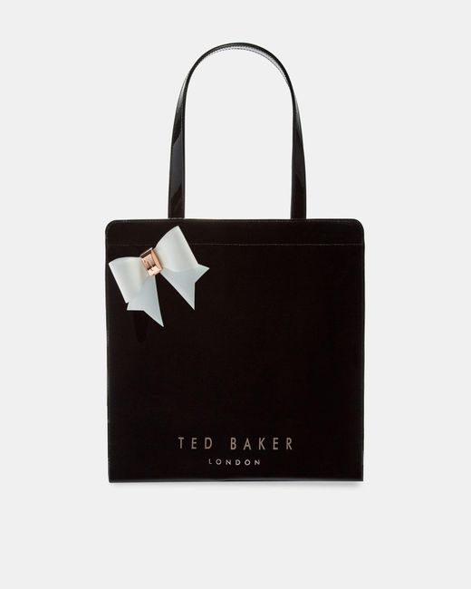 Ted Baker - Black Large Bow Icon Bag - Lyst