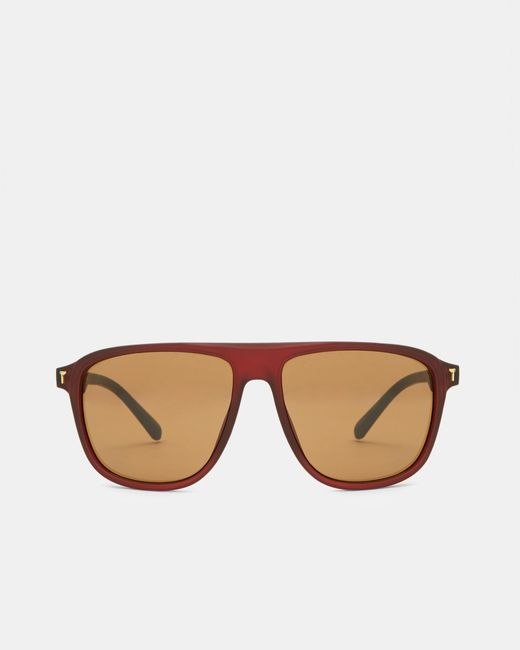 Ted Baker | Red Square Sunglasses for Men | Lyst