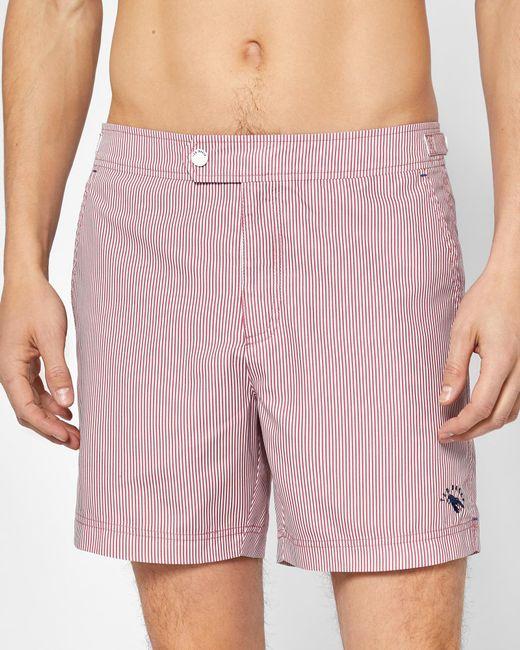 Ted Baker - Pink Striped Swim Shorts for Men - Lyst
