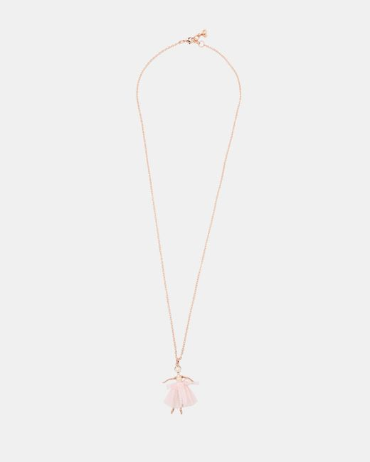 Ted Baker - Multicolor Ballerina Necklace - Lyst