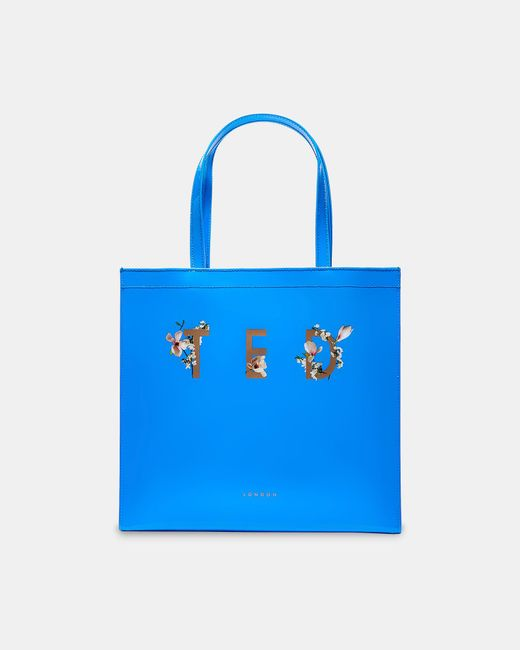 Ted Baker - Blue Harmony Large Icon Bag - Lyst