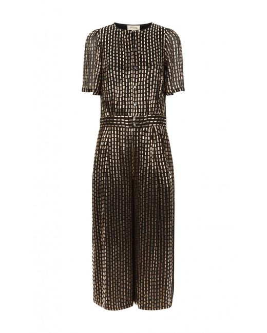 Temperley London - Multicolor Mosaico Cropped Jumpsuit - Lyst