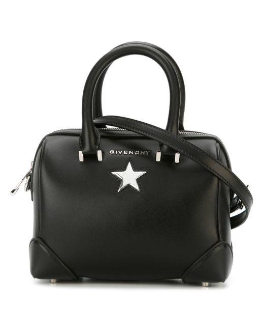 Givenchy | Black Lucrezia Micro Leather Shoulder Bag | Lyst