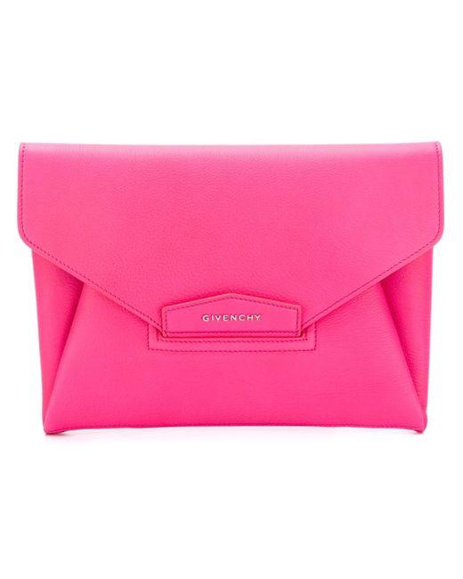 Givenchy | Pink Large Antigona Clutch | Lyst