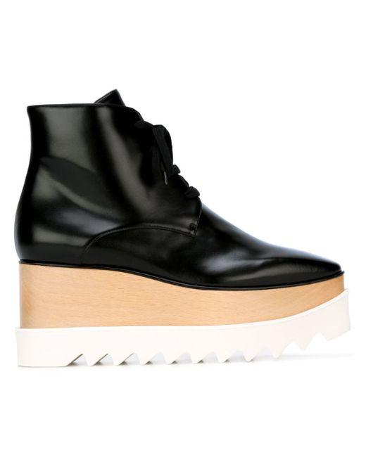Stella Mccartney Elyse Black And White Shoes