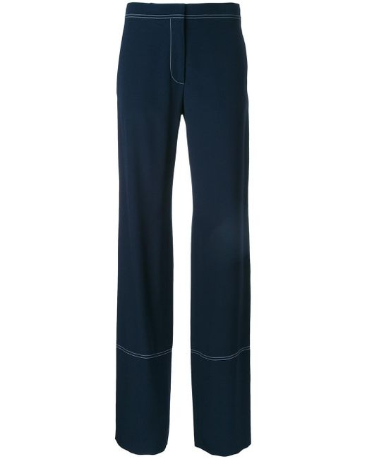 Stella McCartney | Blue Dana Trousers | Lyst