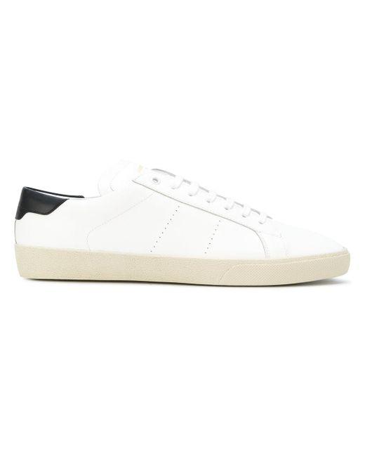 Saint Laurent | White Sneakers | Lyst