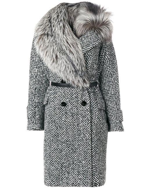 Ermanno Scervino | Gray Coat | Lyst
