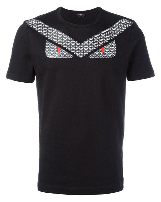 Fendi Bugs T Shirt In Black For Men Lyst