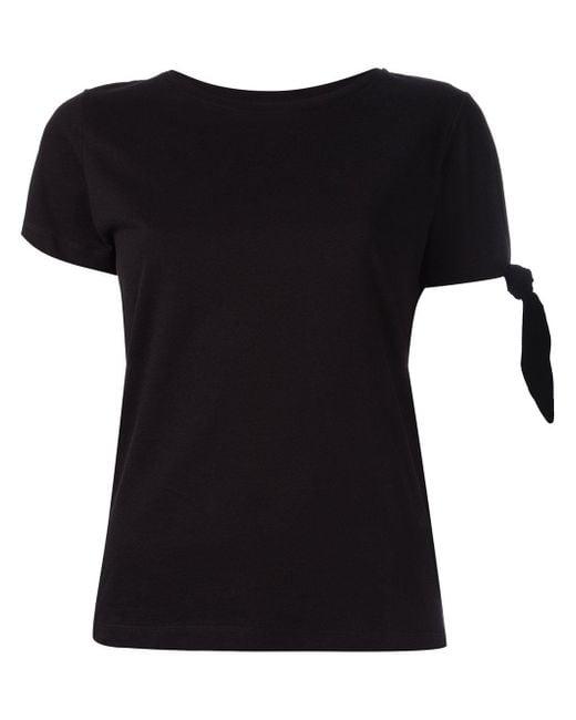 J.W. Anderson - Single Knot T-shirt In Black - Lyst