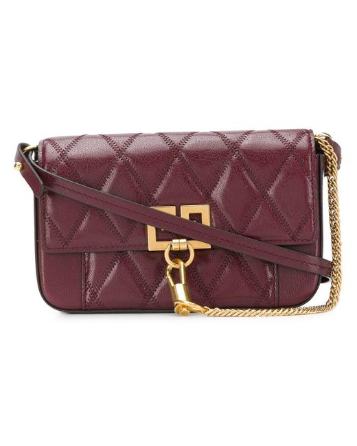 ... Givenchy - Purple Pocket Mini Leather Beltbag - Lyst ... sale retailer  b452e ce28a  Givenchy Antigona ... 75fb8ea8dc
