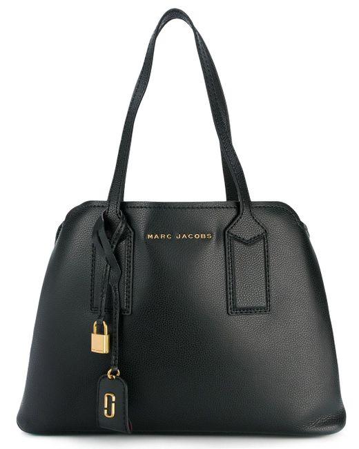 Marc Jacobs - Black The Editor Leather Shoulder Bag - Lyst