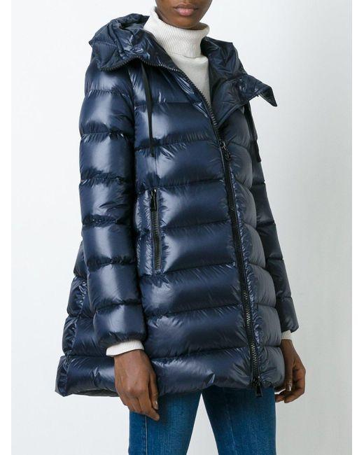 62e78ba0c Moncler Suyen Down Jacket in Blue - Lyst