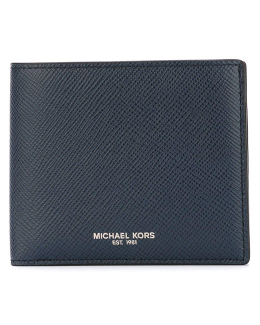 MICHAEL Michael Kors - Blue Wallet for Men - Lyst