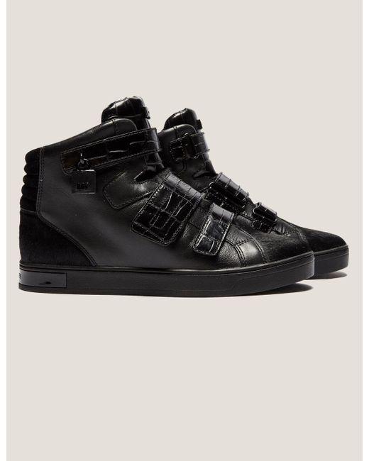 Michael Kors | Black Randi High Top Boots | Lyst