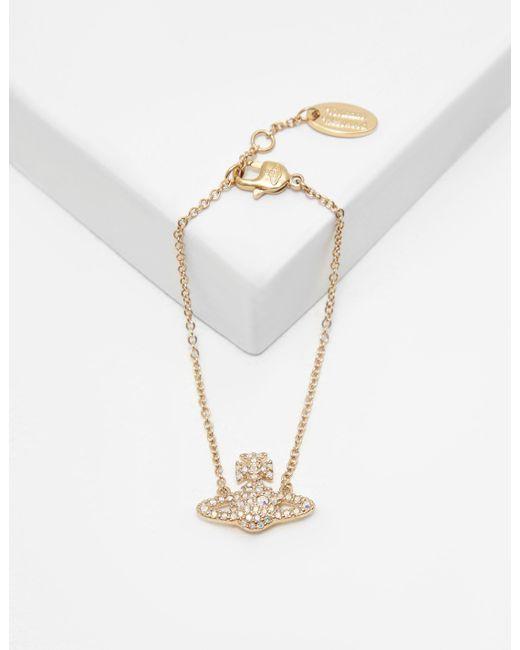 Vivienne Westwood - Metallic Womens Grace Bracelet Gold - Lyst