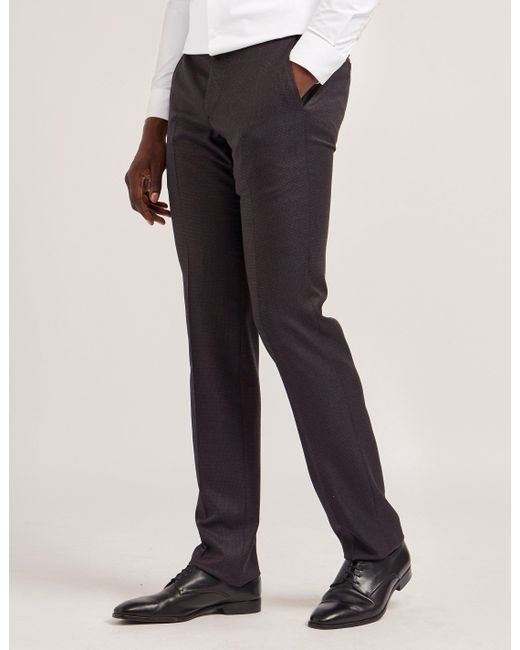 Armani | Gray Classic Trousers for Men | Lyst