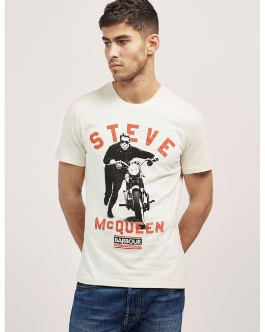 Barbour | Multicolor International Steve Mcqueen T-shirt for Men | Lyst