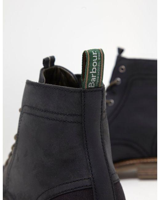 1e75cec3ec5 Barbour Dalton Boots Black in Black for Men - Save 43% - Lyst