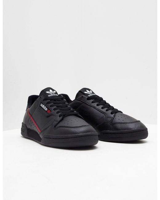 Adidas Originals hombre  continental 80 negro en negro para hombres Lyst