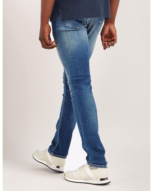 Jacob Cohen - Mens Slim Fit Jeans Blue for Men - Lyst