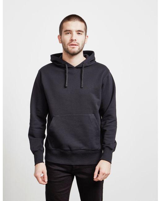 778b399ab Versus Back Logo Overhead Hoodie Black in Black for Men - Lyst