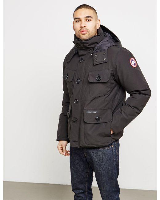 Canada Goose - Mens Selkirk Padded Jacket Black for Men - Lyst ...