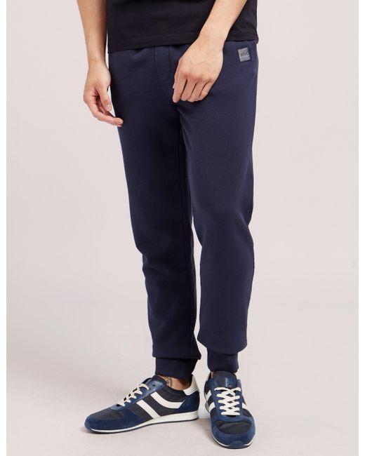 BOSS - Blue Orange South Cuff Track Pants for Men - Lyst
