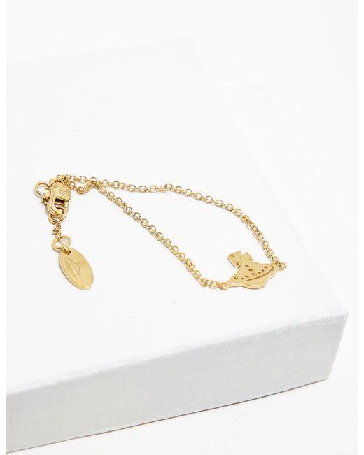 Vivienne Westwood - Metallic Womens Yeni Bracelet Gold - Lyst