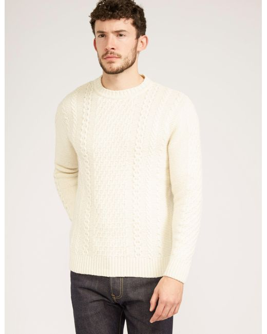 Edwin - Mens United Knit White for Men - Lyst