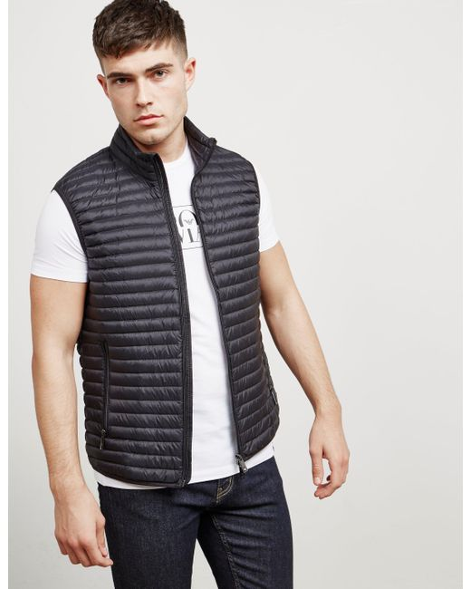 Emporio Armani - Mens Basic Gilet Black for Men - Lyst