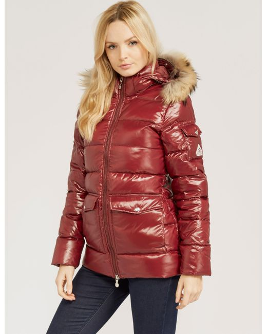 Pyrenex Authentic Shiny Jacket in Red