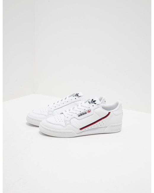 new style a1f4c 8be30 Adidas Originals - Continental 80 White for Men - Lyst ...