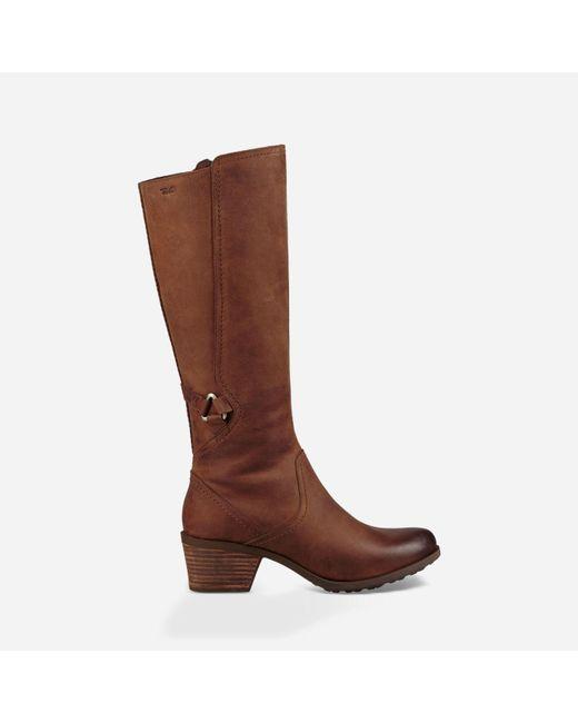 Teva - Brown Foxy Tall Waterproof - Lyst