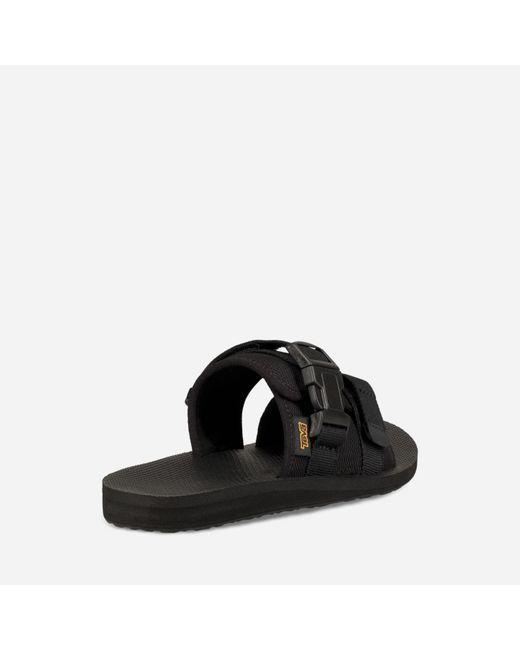 008b8dd8d ... Teva - Black Original Sling Slide for Men - Lyst ...