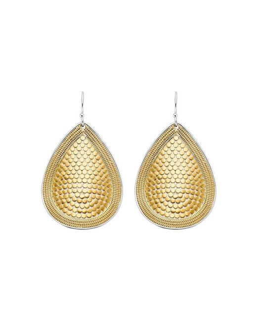 Anna Beck - Metallic Teardrop Earrings - Lyst
